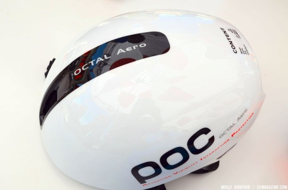 A first look at the Poc Octal Aero. © Cyclocross Magazine
