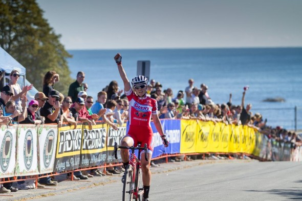 Elle Anderson takes the win at Gloucester Day 1. © Todd Prekaski