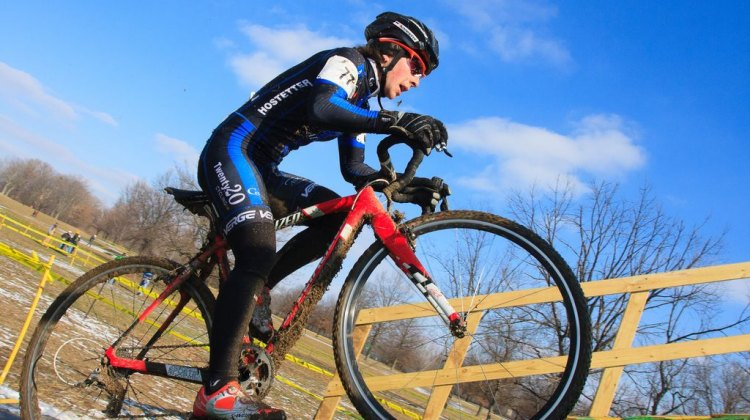 C3 racer Arley Kemmerer at Kings CX. © Kent Baumgardt