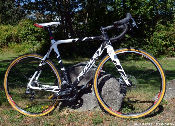 Myerson's new bike for 2013: the Ridley X-Fire with disc brakes. © Cyclocross Magazine