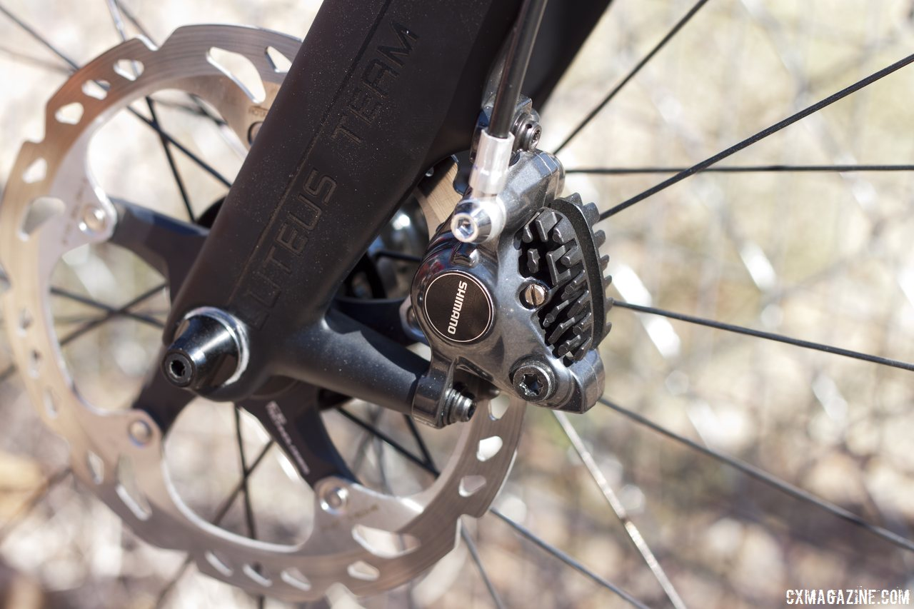 First ride and review photo gallery of shimano s r785 hydraulic disc