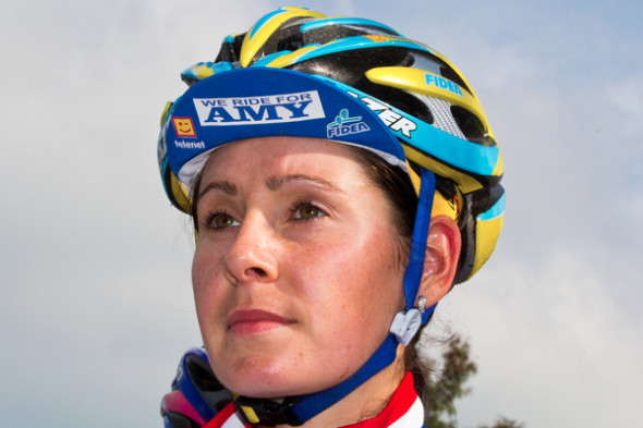 Remembering Amy: Nikki Harris at Den Bosch, The Netherlands - Cyclo-cross Grote Prijs van Brabant. © Thomas van Bracht