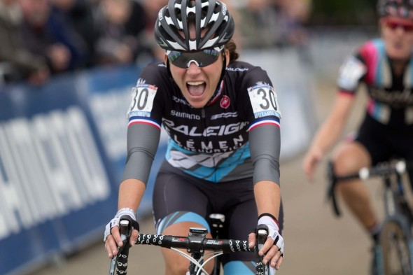 Mani was psyched with her result at the World Cup Valkenburg.  Thomas van Bracht