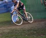 Powers heads into the last lap in the lead. © Cyclocross Magazine