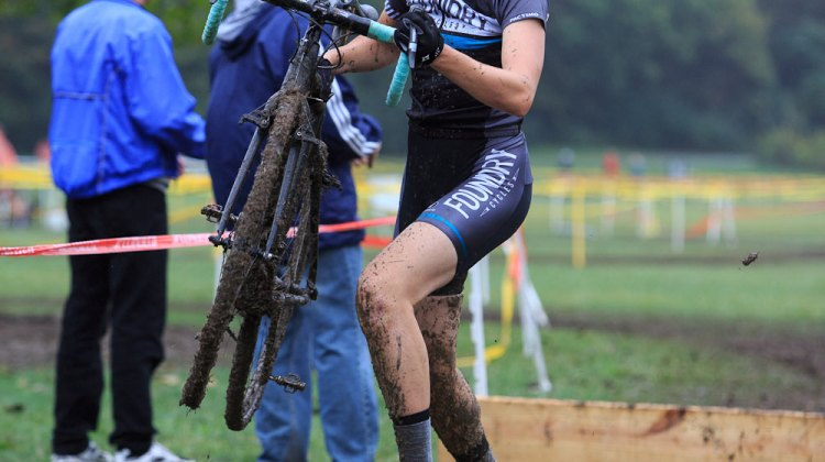Woodring rallied this week and took the OVCX win. © Kent Baumgardt