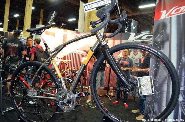 Titanium Viaje: Volagi's Interbike 2013 offerings. © Cyclocross Magazine