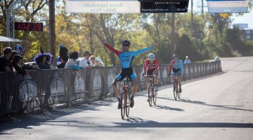 Spencer Petrov takes the win at OVCX #6. © Kent Baumgardt