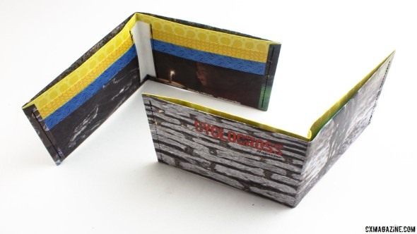 the ThinFolio Tyvek 11g wallet, made in California. © Cyclocross Magazine