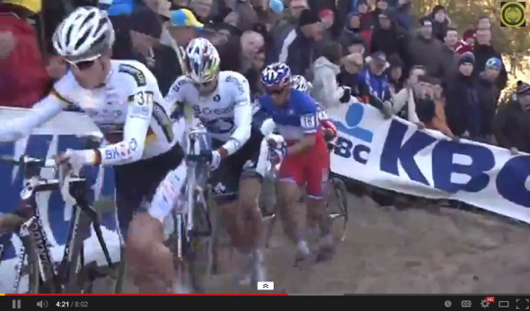 The battle for second at the 2013 Kokijde World Cup video - last lap