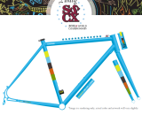 Raleigh has released its 2013 SSCXWC Limited Edition steel singlespeed-ish frameset.