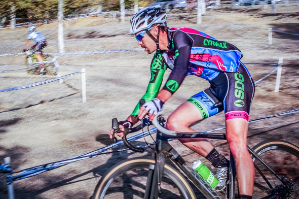 Dave Sheek made it a one, two punch for Team SDG/Felt/IRT at SLO Cross. © Kenneth Hill