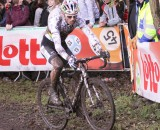 Sven Nys racing disc brakes at Hamme-Zogge Superprestige. © Cyclocross Magazine