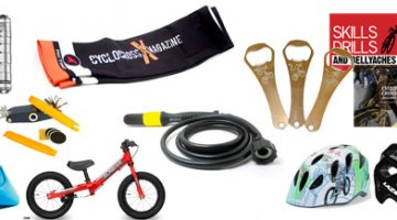 Gift ideas for the last-minute shopper for cyclocrossers and cyclists.
