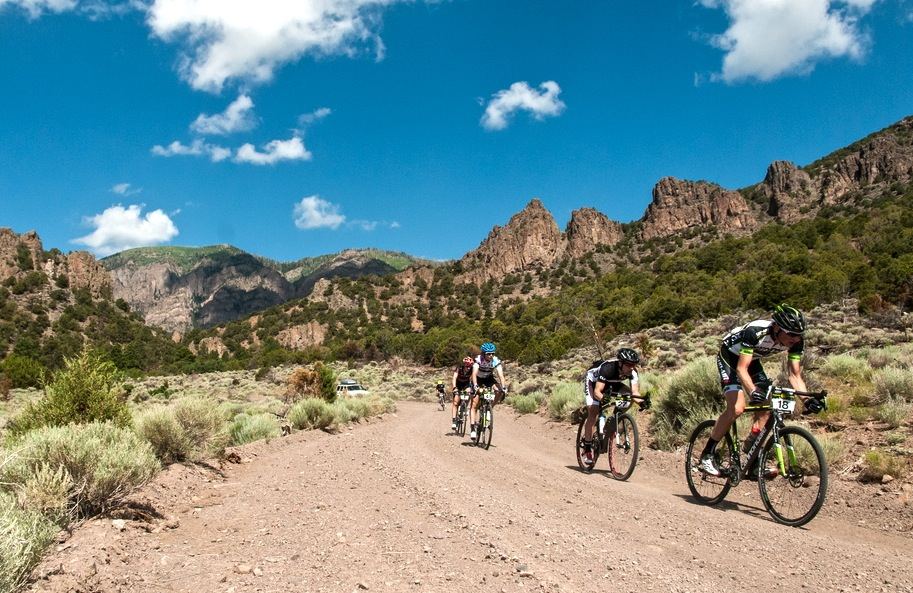The Crusher in the Tushar is known for its seemingly never-ending gravel climbs and sweeping views. © Chris See