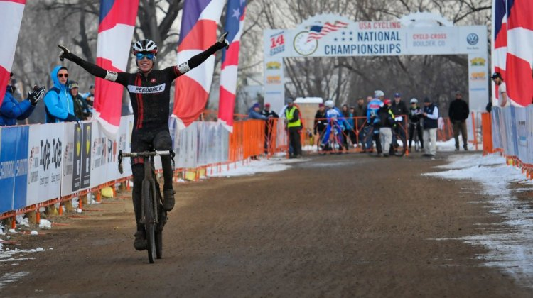 Tim Allen dominates the 2014 Singlespeed National Championship. © Steve Anderson