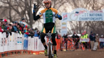 Three in a row for Werner in D1 Collegiate Nationals. © Steve Anderson