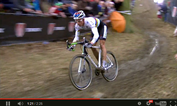 Video screenshot: Sven Nys racing the 2014 edition of his namesake race.