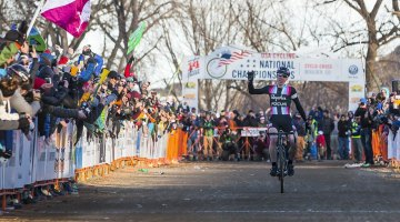 Jeremy Powers wins his second National Championship. © Matthew Lasala