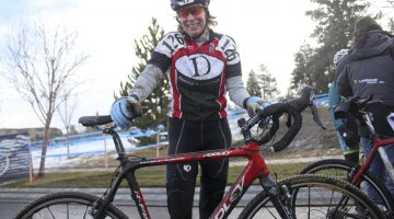 2010 60-64 National Champion Martha Iverson and her Ridley X-fir