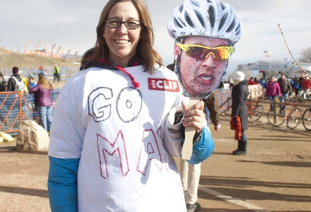 Boulder local Maxx Chance had the biggest number of fans on the course. © Cyclocross Magazine