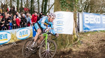 Nys shows of his technical prowess at Worlds in Hoogerheide. © Thomas Van Bracht