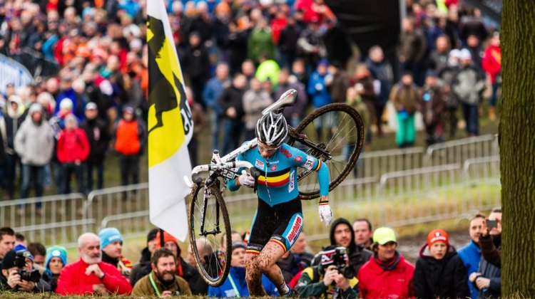 Elite Women UCI CX World Championships - Hoogerheide, The Netherlands 1st February 2014