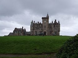 Wouldn't you want to race at a castle? Glengorm is the site of a Scottish 'cross race. Photo via Wikipedia