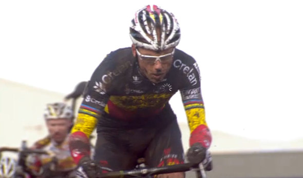 Video Screenshot: 2014 Superprestige Hoogstraten Last Lap