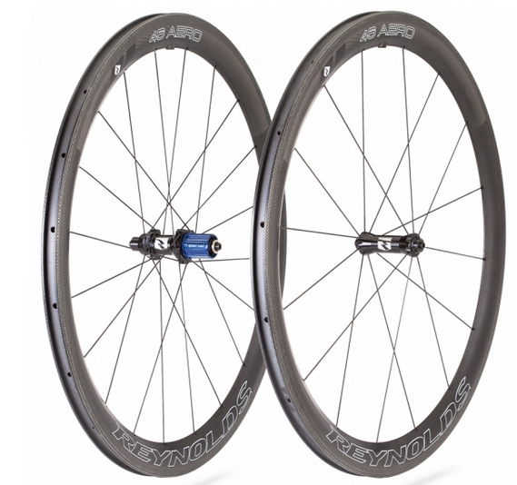 The Aero 46 (clincher shown) is Reynolds Cycling's high-end road option, and a new tubular version has just been released.