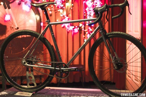 All-City Cycles' Nature Boy Disc singlespeed cyclocross bike, unveiled at Frost Bike 2014. © Cyclocross Magazine