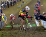 Video: Nys slips on the stepped hills at the 2014 Superprestige Noordzeecross Middelkerke