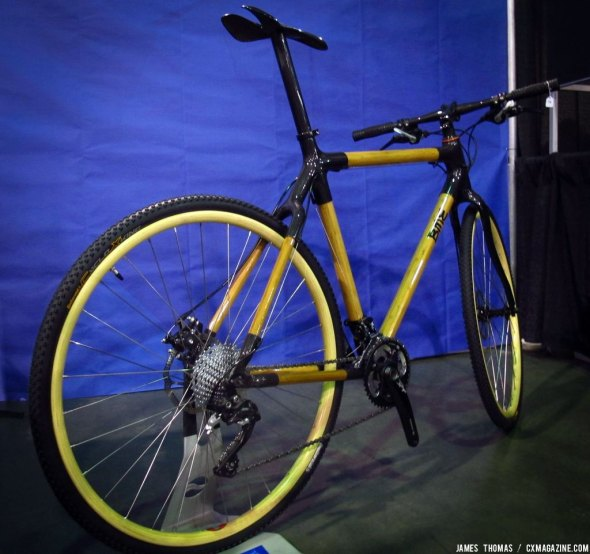 Shows off their latest cyclocross build at NAHBS 2014. © James Thomas
