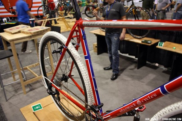 Shamrock Cycles at NAHBS. © Iain Banks