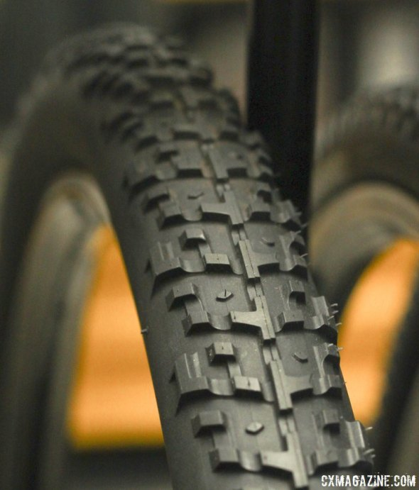 The new Nano 40c gravel / monster cross tire will come in a Race and Cross version. © Cyclocross Magazine