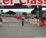 Vos racks up another short track win at Sea Otter. © Cyclocross Magazine