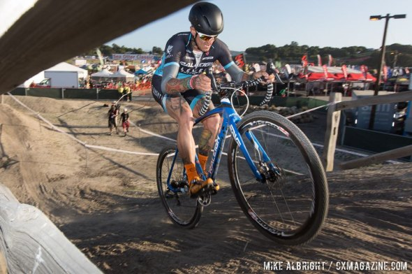 Berden during the Sea Otter 'cross race. © Mike Albright