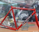 The first Conquest frame from Redline on display at Sea Otter 2014. © Cyclocross Magazine