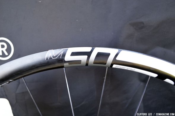 Designed for 50% up, 50% down: the M50 ENVE at Sea Otter 2014. © Cyclocross Magazine
