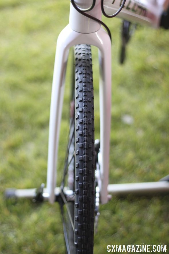 Mud, gravel, adventure - Fezzari said their bike can do it all. We plan to try to verify that claim. © Cyclocross Magazine