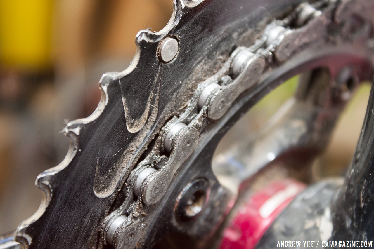 Image result for cleaning the chain rings and bottom bracket