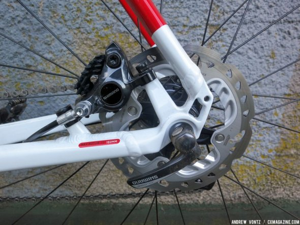 Switching to disc for better stopping power. © Andrew Vontz