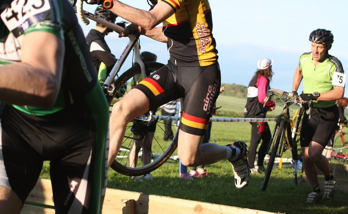 Bringing 'cross into the offseason in the UK. © Clare Crabtree