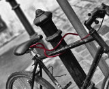 Avoid bike theft © Gabriele Diwald