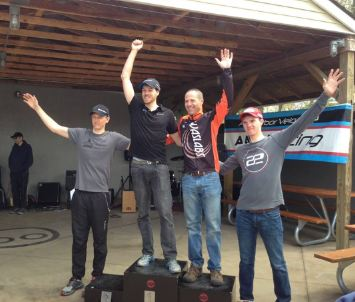 Cone Azalea Men's Podium. Courtesy of Shawn Adams