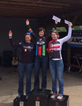 Cone-Azalea Women's Podium. Courtesy of Kim THomas