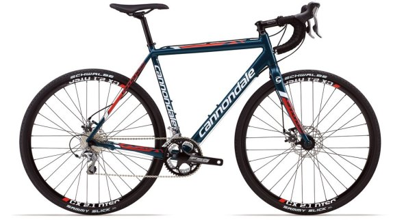 The less price-y Cannondale CAADX Tiagra Disc
