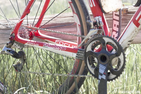 SRAM Red on the Focus Mares CX © Cyclocross Magazine