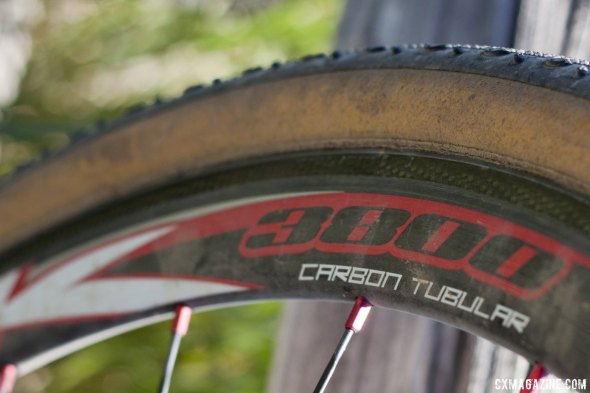 Silk 3800 Carbon Tubular Wheels © Cyclocross Magazine