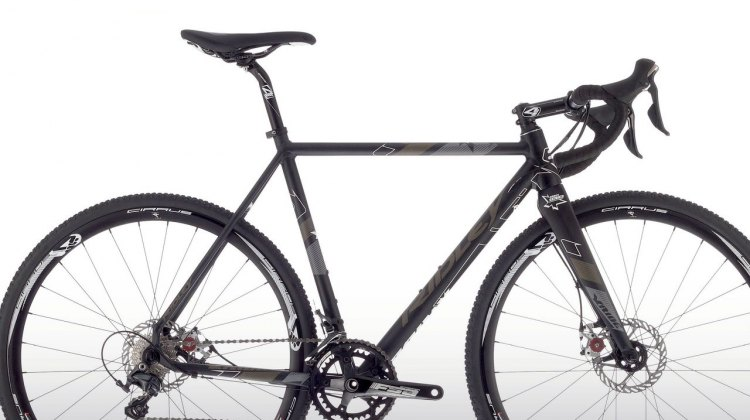 The race ready X-Ride 10 Disc, shown here with a full compliment of Ultegra 11-speed components and Avid BB7 disc brakes