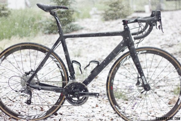 Tested in cyclocross conditions: SRAM Rival 22 component group with Yaw and HydroR unveiled. © Cyclocross Magazine